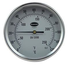 BRANNAN 31/621/0  Thermometer, Direct Mounting, 50Mm